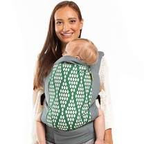 Boba Baby Carrier Classic 4Gs - Organic Verde - Backpack or Front Pack Baby Sling for 7 lb Infants and Toddlers up to 45 pounds