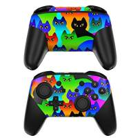 Rainbow Cats Decalgirl Skin Sticker Wrap Compatible with Nintendo Switch Pro Controller