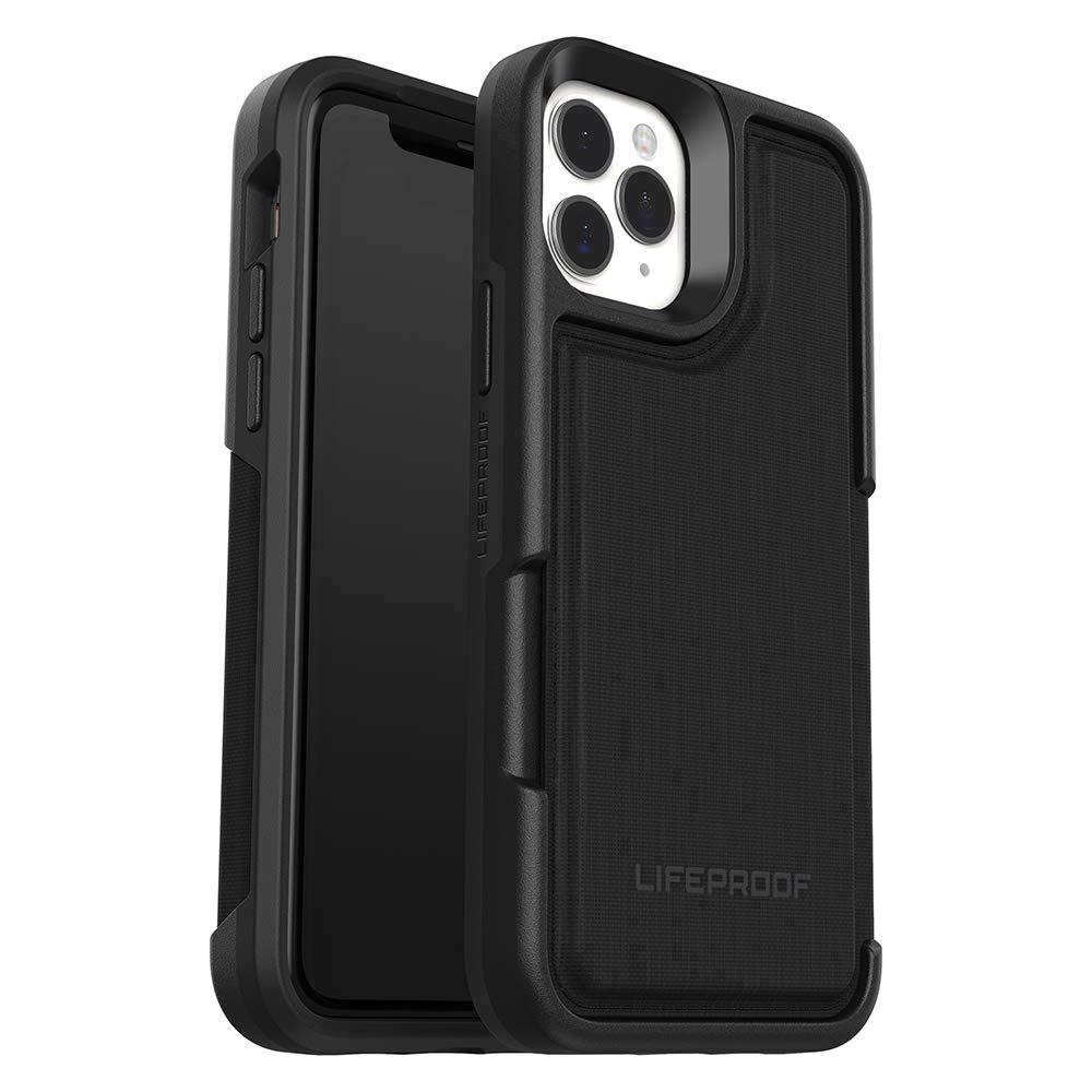 LifeProof FLIP SERIES Wallet Case for iPhone 11 Pro - DARK NIGHT (BLACK/CASTLEROCK)