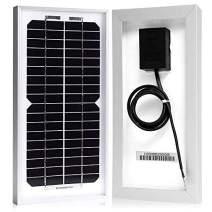 ACOPOWER 5 Watt 5W Monocrystalline Mono Solar Panel for 12 Volt Battery Charging, Off Grid …