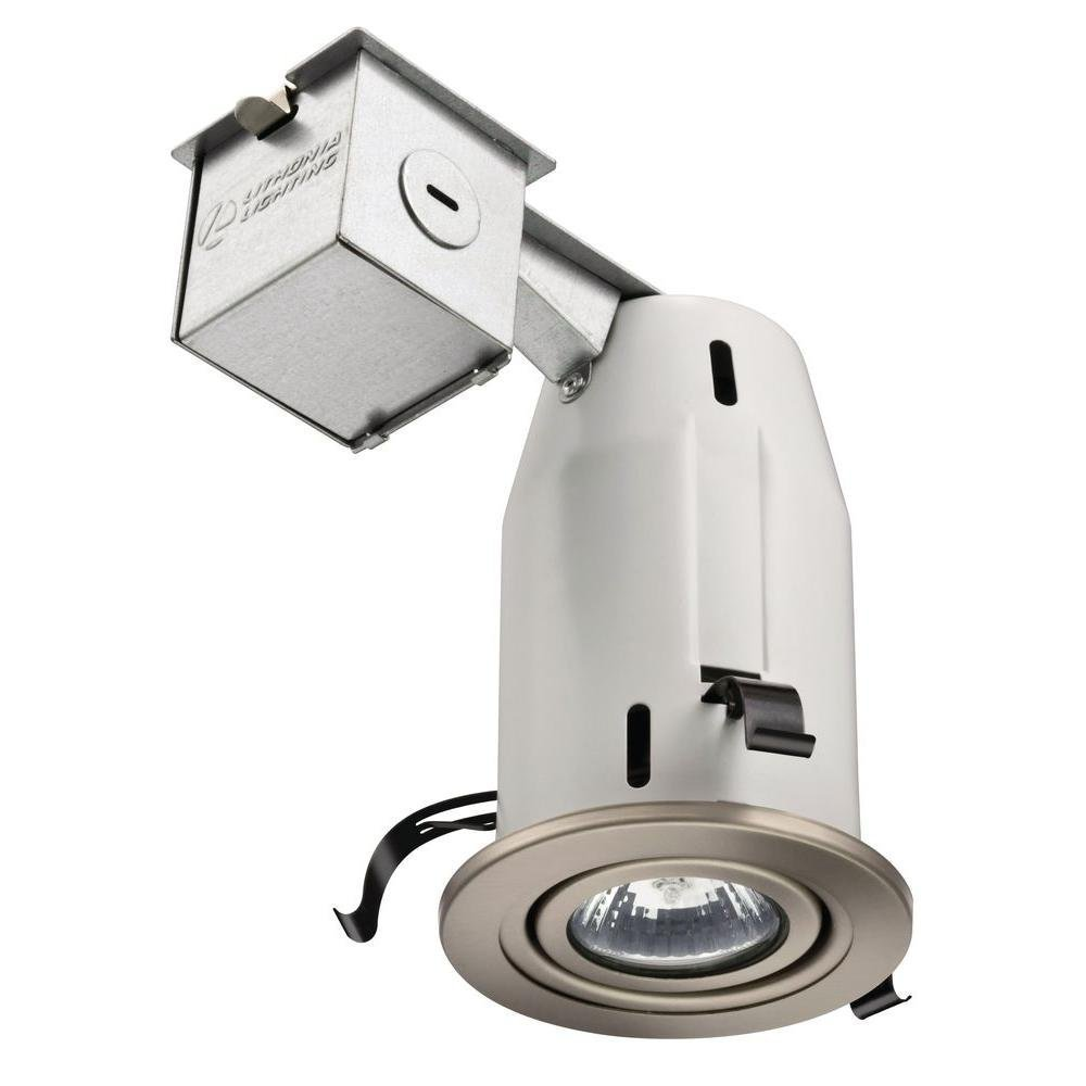 Lithonia Lighting LK3GBN M6 3 Inch Gimbal Kit with Halogen Lamp Included in Nickel
