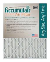Accumulair Platinum 20x40x1 (19.5 x 39.5) MERV 11 Air Filter/Furnace Filters (2 Pack)
