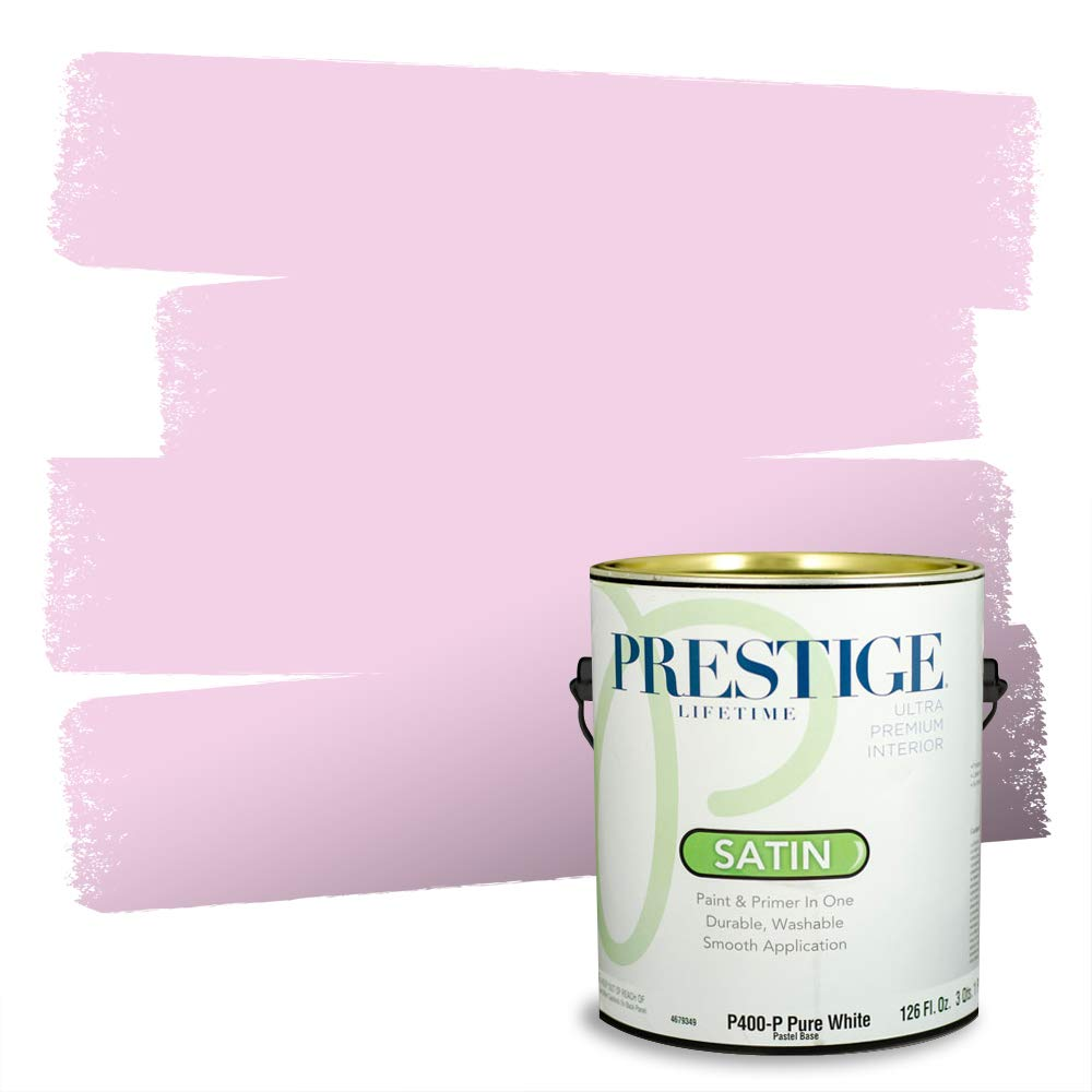 Prestige Interior Paint and Primer in One, Gerberas, Satin, 1-Gallon