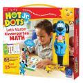 Educational Insights Hot Dots Jr. Let's Master Kindergarten Math Set, Homeschool, 2 Books & Interactive Pen, 100 Math Lessons, Ages 5+