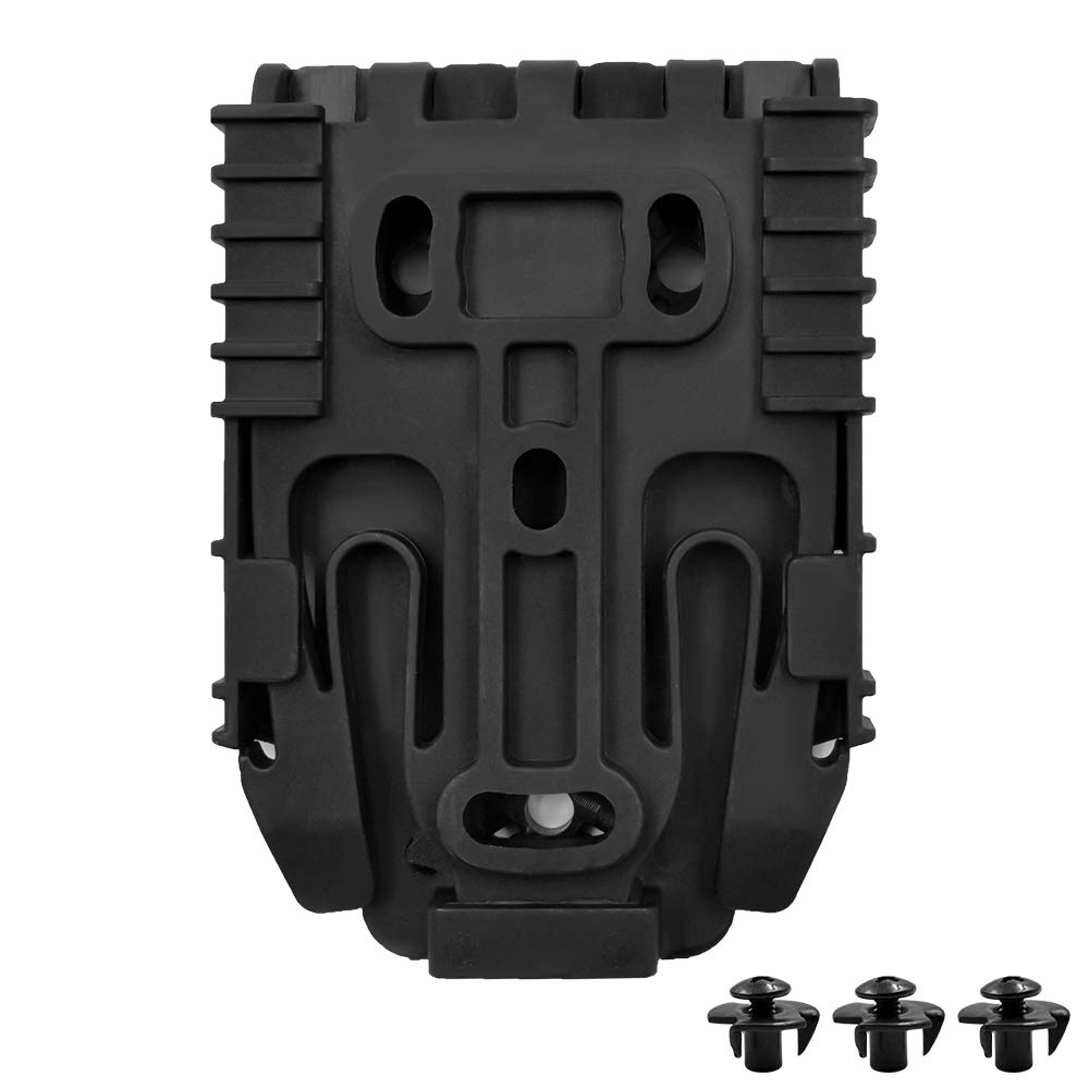 Acelane Quick Locking System Kit with QLS 19 and QLS 22 Polymer Holster System Kit Tactical QLS Kit with Matching Screws
