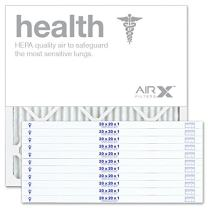 AIRx Filters 20x20x1 Air Filter MERV 13 Pleated HVAC AC Furnace Air Filter, Health 12-Pack, Made in the USA