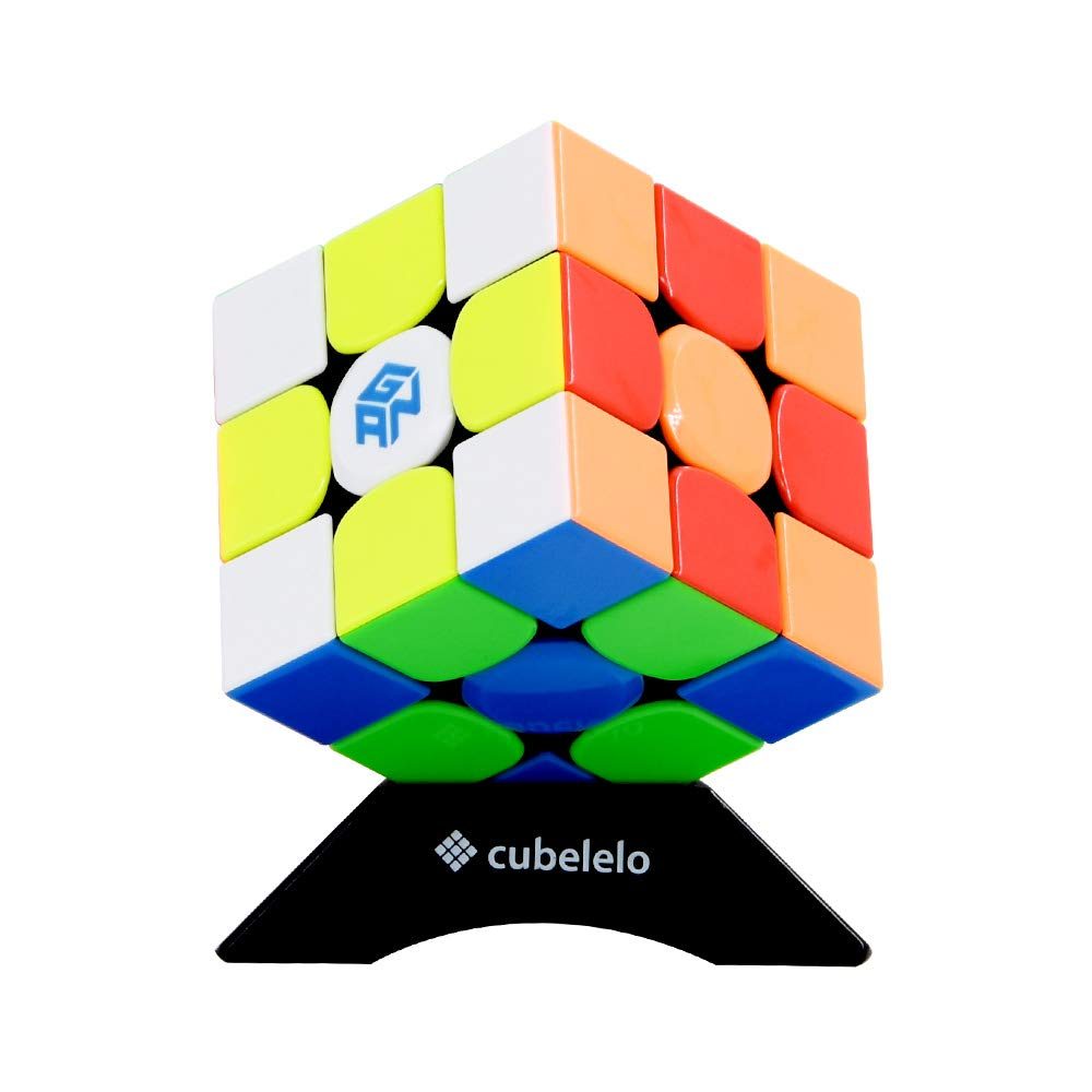 Cubelelo Gans 354 M 3x3 Stickerless Magnetic Speed Cube 3x3x3 Magic Cube (Best 2018 Flagship Product for Speedsolving)