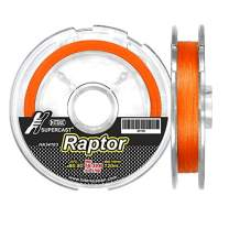 Hitena Super Cast Raptor Line - 8 Strand Braided. Thin Diameter. Super Abrasion Resistance. Minimized Water Absorption. Improved Durability
