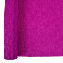 Just Artifacts 70g Premium Crepe Paper Roll, 20in Width, 8ft Length, Color: Magenta
