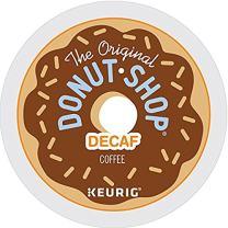 The Original Donut Shop Decaf Keurig Single-Serve K-Cup Pods, Medium Roast Coffee, 90 Count