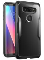 LG V30 Case, SUPCASE Unicorn Beetle Series Premium Hybrid Protective Clear Case for LG V30, LG V30s, LG V30 Plus 2017 Release, Retail Package (Black/Black)