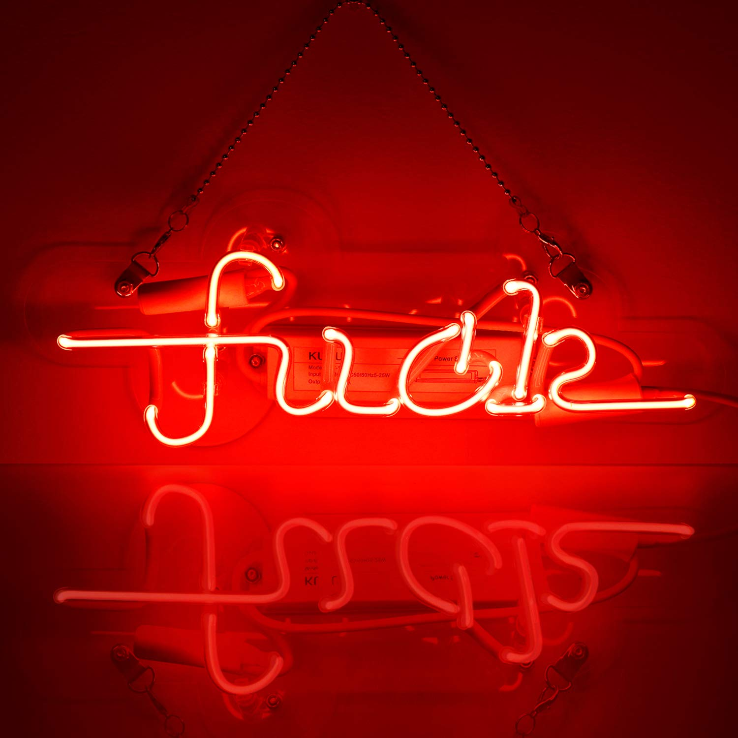 Neon Signs Fuck Light Neon Light Sign Hanging Wall Sign Neon Girls Sign Neon Words Real Neon for Wall Home Bedroom Room Decor Bar Beer Decoration Signs