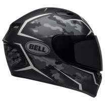 Bell Qualifier Street Helmet (Stealth Camo Matte Black/White - XX-Large)
