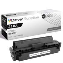 Clever Supplies Compatible Replacement Toner Cartridges Black for HP 410A (CF410A), Laserjet Pro M452, M452dn, M452dw, M452nw, M477, M477fdw, M477fnw, Laserjet Pro M477fdn, M452dn