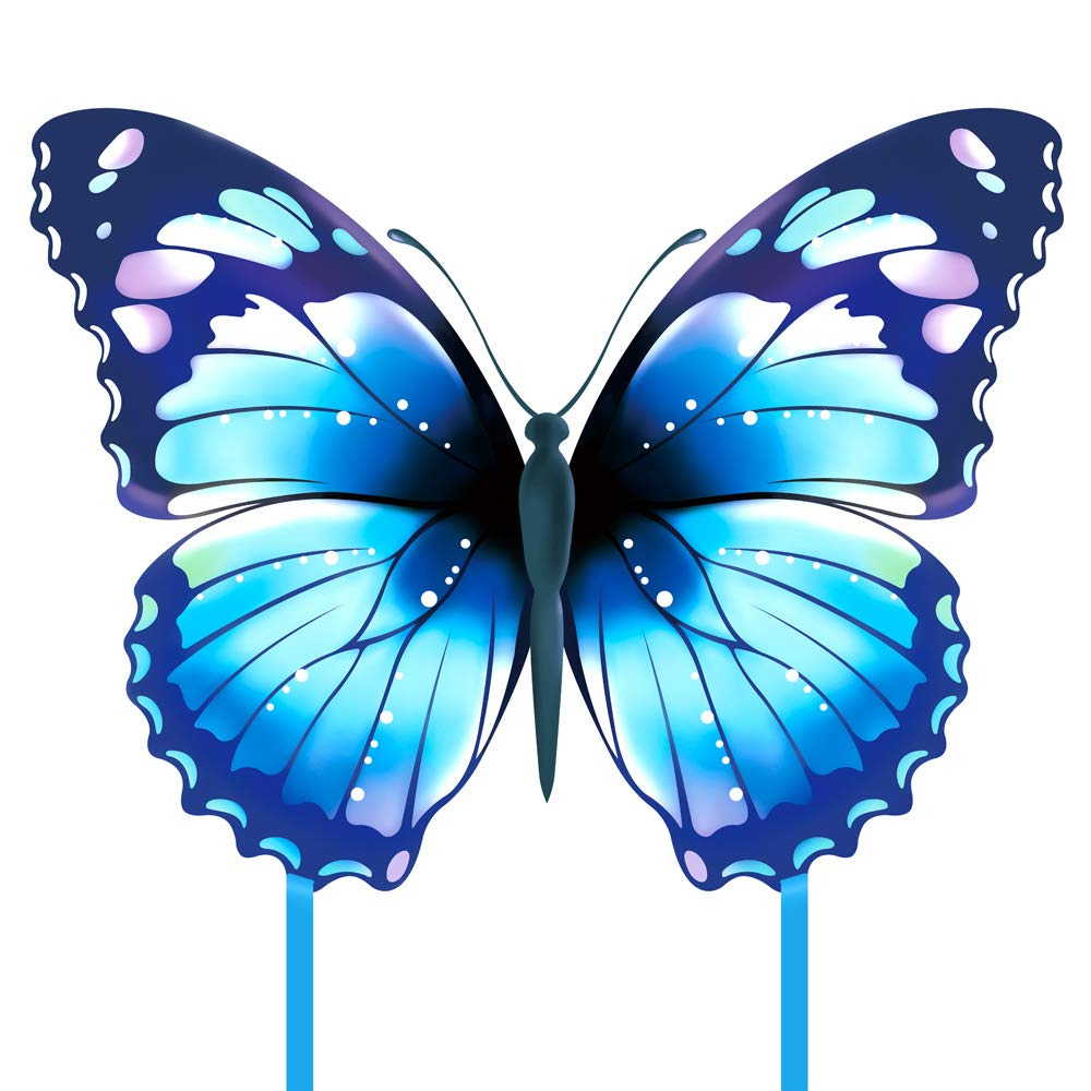Mint's Colorful Life Butterfly Kite (Blue)