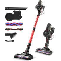 INSE Cordless Vacuum, 12KPa Powerful Vacuum Cleaner with 160W Motor, 4-in-1 Stick Vacuum, Rechargeable handheld vacuum cleaner for Home Hard Floor Carpet Pet Hair- N6