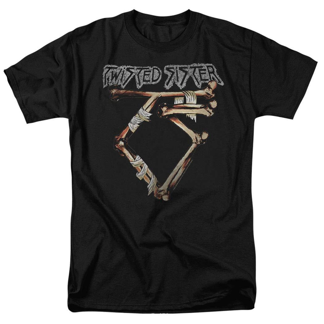 Popfunk Twisted Sister Bone Logo T Shirt & Stickers