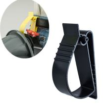 Utility Belt Clip Catcher Clip Attachment For Hard Hats, Ear Muff Clip, Ear Protection Clip (Black)