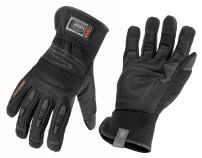 Ergodyne ProFlex 840 Leather Work Glove, Black, Large