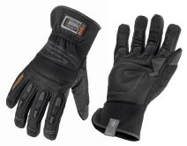 Ergodyne ProFlex 840 Leather Work Glove, Black, Large