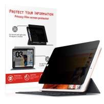 MOBDIK iPad Pro 10.5 Privacy Screen Protector, Anti Glare Anti Spy Screen Protector for iPad Air 3 2019 / iPad Pro 10.5 2017 Matte Privacy Film Landscape Privacy Compatible with Pen
