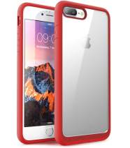 SUPCASE Unicorn Beetle Style Premium Hybrid Protective Clear Case for Apple iPhone 7 Plus 2016 / iPhone 8 Plus 2017 (Red)