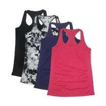 Semath Women's Active Basic Workout Clothes Cami Tank Top 1,2 4 Pack