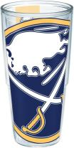 "Tervis 1193385""NHL Buffalo Sabres Colos"" Tumbler, Wrap, 24 oz, Clear"