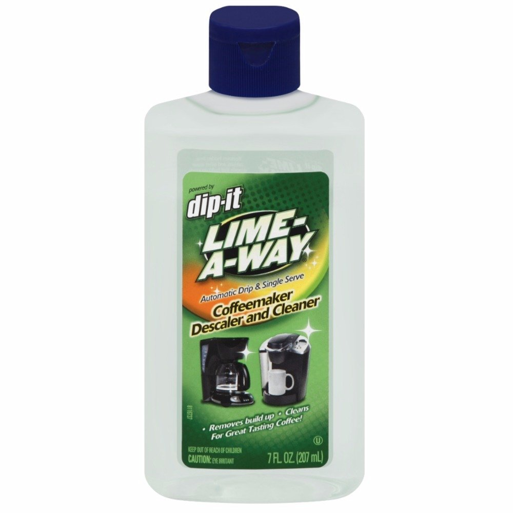 Lime-A-Way Dip-It Coffeemaker Cleaner, 7 oz Bottle, Descaler & Cleaner for Drip & Single Serve Coffee Machines