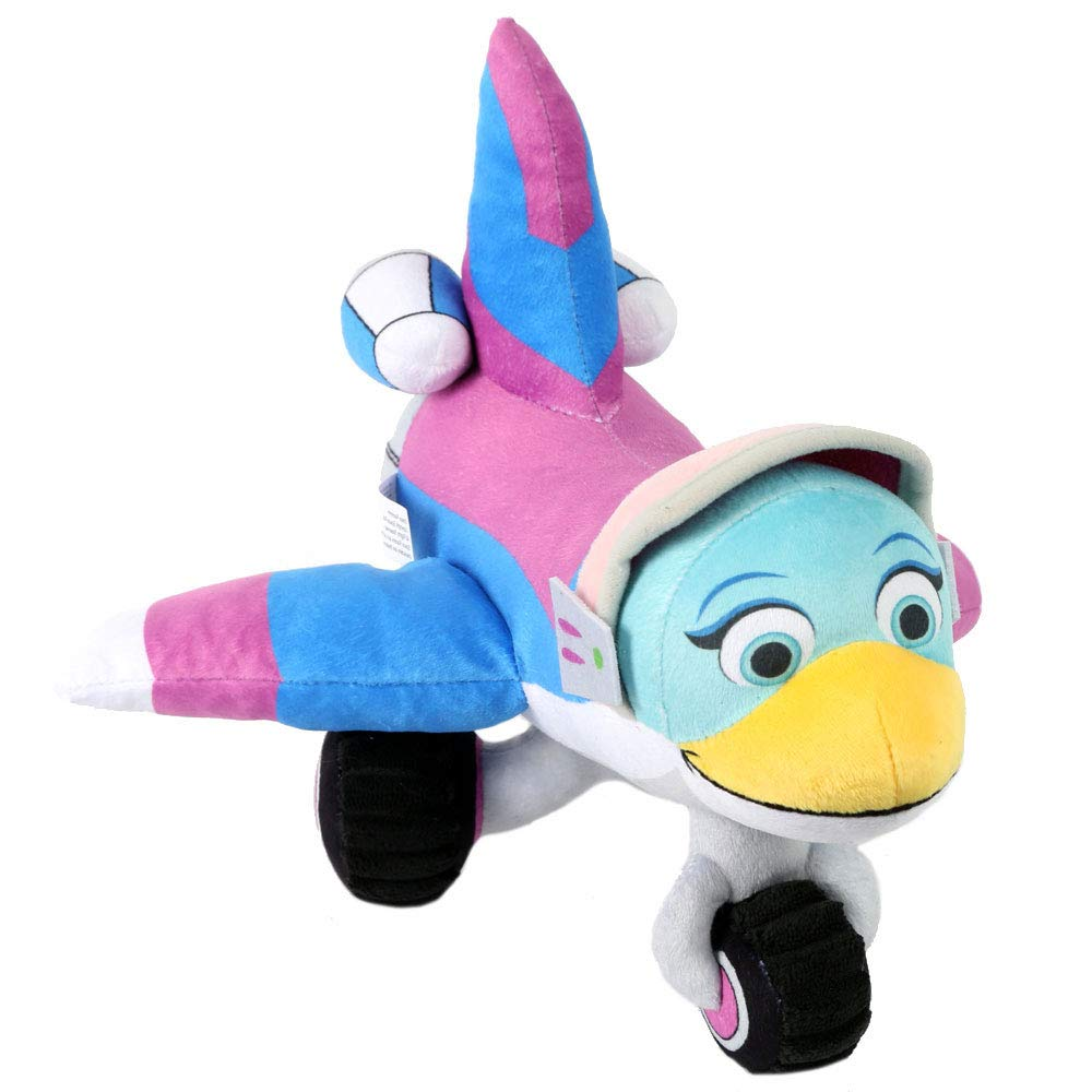 Space Racers Robyn Cadet Plush Toy - Preschool STEM Imaginary Play - Real Rocket Science - Cuddle with Your Favorite Space Cadet Stuffed Rocket
