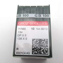 GROZ-BECKERT Needle - 100 GROZ-BECKERT Sewing Needle 135X5 DPX5 Many Sizes (DPX5 21/130)