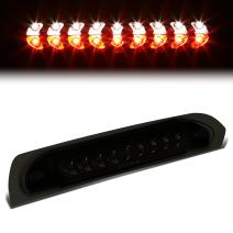 Tinted Housing Dual Row LED 3rd Third Tail Brake Light Cargo Lamp Replacement for Dodge Ram 1500 2500 3500 DR DH 02-09