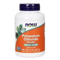 Now Foods: Potassium Chloride Powder Table Salt Substitute, 8 oz (2 pack)