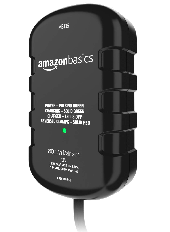 AmazonBasics Battery Charger 12 Volt 800mA