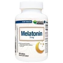 Nature's Wonder Melatonin 5mg for Sleeping, 300 Count