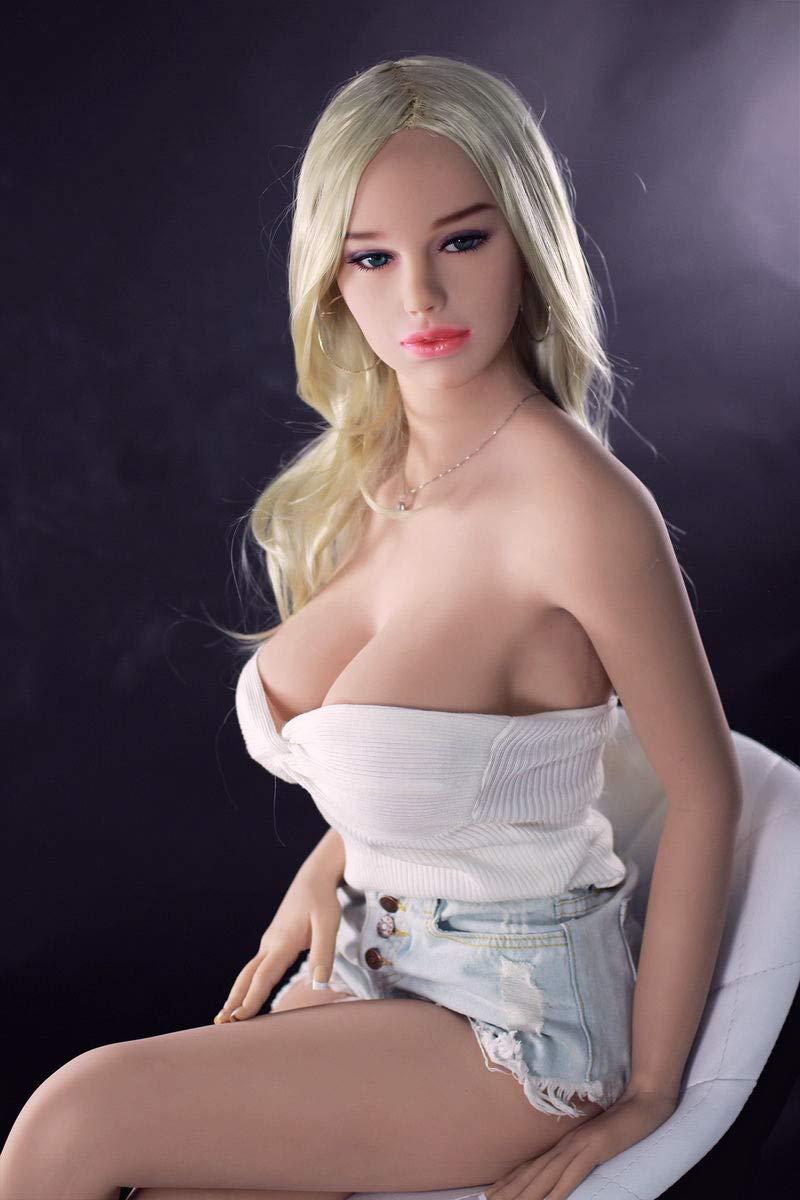 AJDOLL 168cm Sex Doll Solid TPE Full Size Real Lifelike Adult Dolls with Metal Skeleton Anal Vaginal Oral Sex Toys for Men