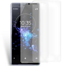 Olixar for Sony Xperia XZ2 Compact Screen Protector - Film Protection - Case Friendly - Easy Application Card and Cleaning Cloth Included - 2 Pack