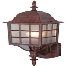 Hardware House 461350 18-5/8-by-6-Inch Outdoor Lighting Fixture, Cast Artesian Bronze