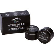 Sayan Pure Authentic Altai Shilajit, Organic Fulvic Acid Supplement and Trace Minerals for Detox, Immune + Energy Support, Genuine, High Efficacy Resin for Women and Men - 30 Grams, 4 Month Supply
