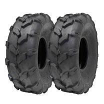 MMG Set of 2: ATV Tubeless Tire 19x7-8 (175/80-8) (P80) Compatible on Red Cat MPX, RFX, SFX, VX, FX 110cc 150cc 200cc 250cc models