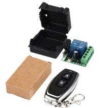 QIACHIP 433Mhz Universal Wireless Remote Control Switch (Transmitters 2 Button+ 1 Receiver 1CH)