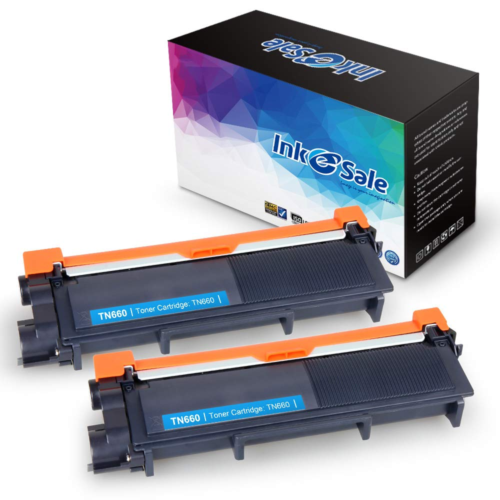 INK E-SALE Compatible Toner Cartridge Replacement for Brother TN630 TN660(Black, 2-Pack),use for Brother MFC-L2700DW HL-L2340DW HL-L2300D HL-L2380DW DCP-L2540DW DCP-L2520DW MFC-L2740DW MFC-L2720DW