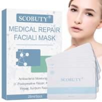 Acne Face Mask, Moisturizing Face Mask, Face Mask Sheet Set, Repair Facial Mask, Sun Damaged Skin Repair, Anti-Acne, Moisturizing Nourishing And Soothing The Skin, 5pc
