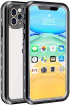 """iPhone 11 Pro Waterproof Case, Shockproof Dropproof Dirt Rain Snow Proof iPhone 11 Pro Case with Screen Protector, Full Body Protection Heavy Duty Underwater Cover for iPhone 11 Pro /5.8""""【2019】"""