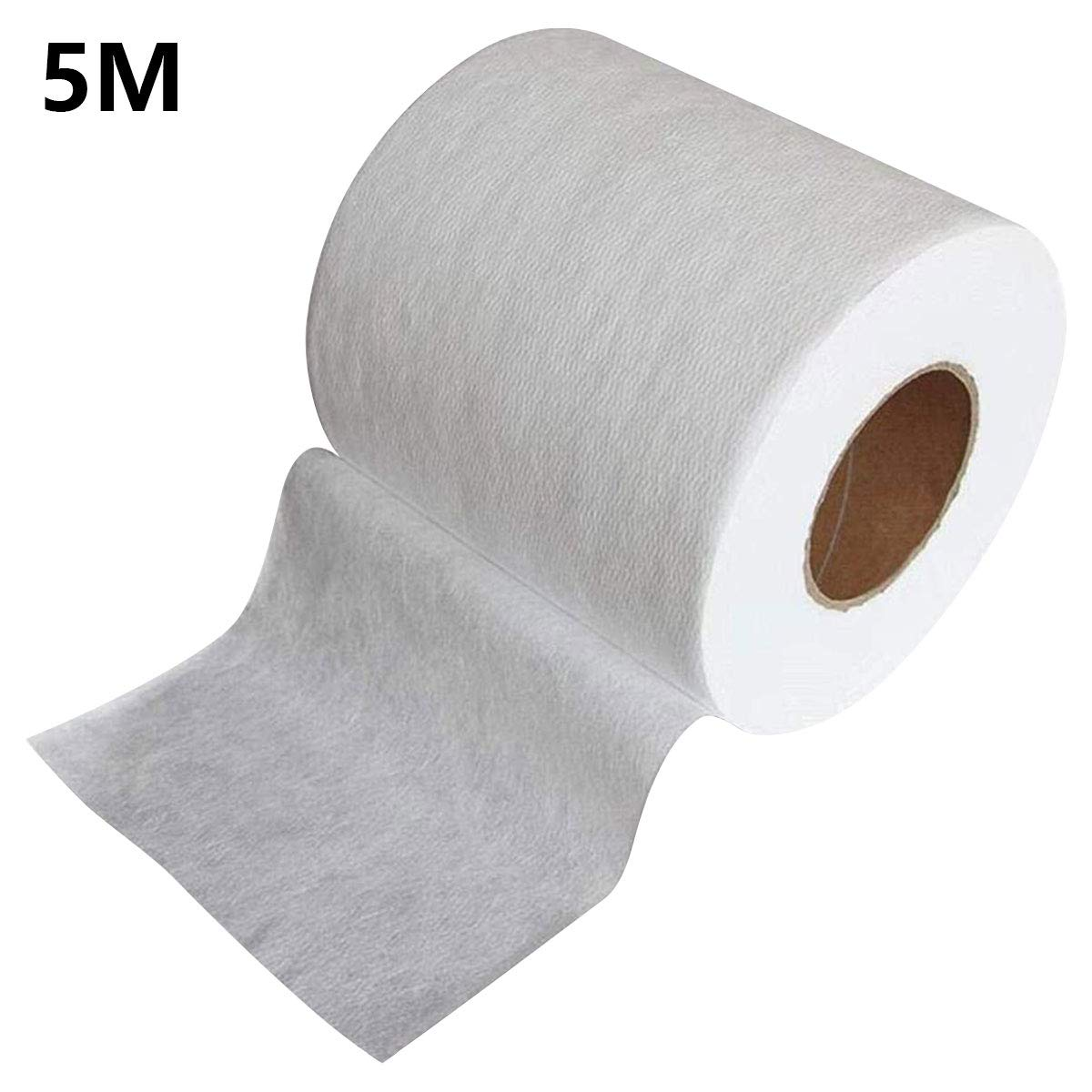 Non-Woven Fabric Melt-Blown Cloth, Disposable Middle Layer Filter Microfiber Fabric Polypropylene Sediment Filters for Filtering, Filtering Efficiency Greater Than 95% (5M)