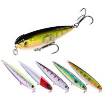 SeaKnight Fishing Lure Floating Pencil Baits 80mm 9g Fishing Wobblers 3D Eyes Artifical Hard Bait with High-Strength Hook