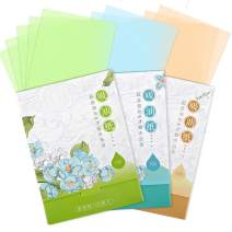 300 Sheets Oil Absorbing Tissues, HNYYZL 3 Pack Premium Oil Blotting Paper Sheets, Translucent, Soft Face Blotting Paper Stay Skin Fresh and Smooth, for Facial Skin Care & Make Up(Green, Blue, Brown)