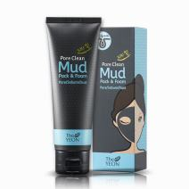 Korean Skin Care - The YEON Pore Clean Mud Pack and Foam (120 ml/Net wt. 4.05 oz) - Facial Cleanser