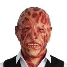 Halloween Scare Latex Mask Freddy Cave Demon Skull Zombie Skull Scare for Man Adult Kid Full Head