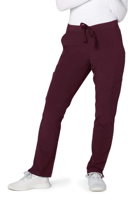 Adar Addition Scrubs for Women - Skinny Cargo Scrub Pants